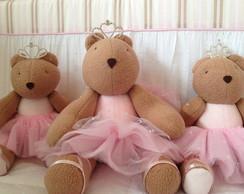 (Bi 0080) Ursa princesa pel�cia