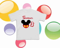 Camiseta Anivers�rio Mickey Mouse