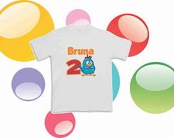 Camiseta Anivers�rio Galinha Pintadinha