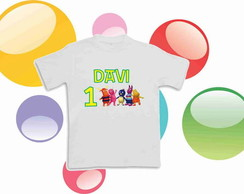 Camiseta Anivers�rio Backyardigans