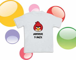 Camiseta Anivers�rio Angry Birds