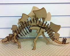 Quebra Cabe�a 3D - Estegossauro