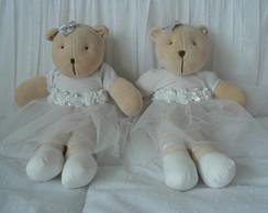 (Bi 0070) Ursa bailarina pel�cia