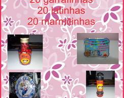 Garrafinha, Latinha, Tubete E Marmitinha