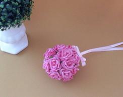 Bola de Rosas - Rosa