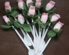 Colher para doce de copinho - rosa