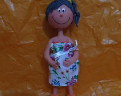 Boneca Magrela GR�VIDA !!!