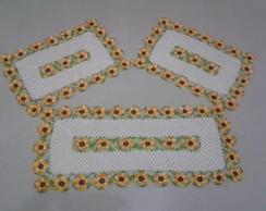 jogo de cozinha girasol
