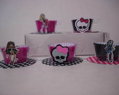 Mini xicara monster high