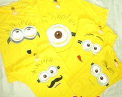 Camiseta Minions - Infantil