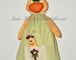 Galinha Puxa-saco com vestido