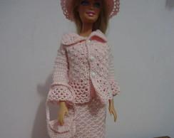 Roupa Barbie - Conjunto Social Rosinha