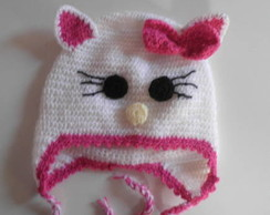 "Touca/Gorro ""Hello Kitty"""