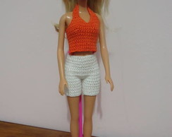 Roupa Barbie - Conjuntinho Ver�o II