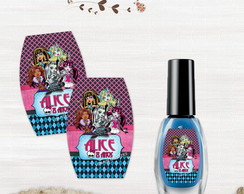 R�tulo para Esmalte Monster High