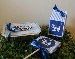 Kit It's a Boy - Ch� de Beb�