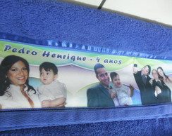 Toalha Personalizada com fotos e frases