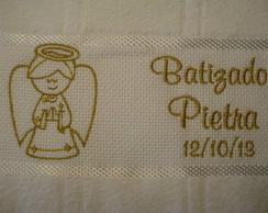 Toalha Batizado - Anjo P