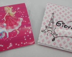 Capa Pirulito Barbie 10x10 cm