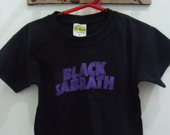 Camiseta Infantil Black Sabbath
