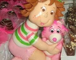 Boneca Moranguinho baby em Biscuit