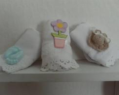 Lembrancinhas de toalhinhas de lavabo