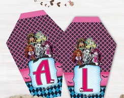 Bandeirola/faixa Decorativa Monster High