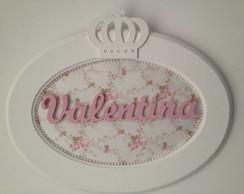(MA 0153) Quadro oval princesa Valentina