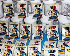 Kit Pintando O Caneco A Bela e a Fera