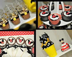 KIt de doces personalizados festa mickey