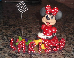 Minnie e Mickey Porta Lembrete