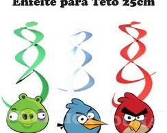 Enfeite Teto Angry Birds - 10 unidades