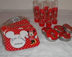 Kit Festa Minnie Vermelha