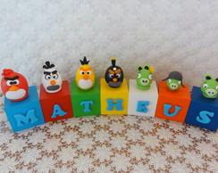 Cubos Angry Birds - Matheus
