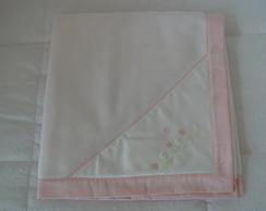 (MTA 0055) Manta soft tulipa rosa