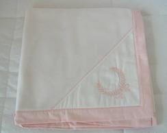 (MTA 0033) Manta soft ramo rosa