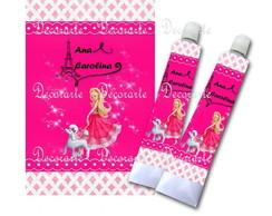 R�tulo Bisnaga 15g Barbie