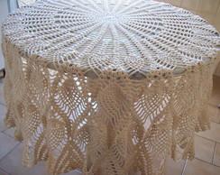 Toalha de mesa redonda