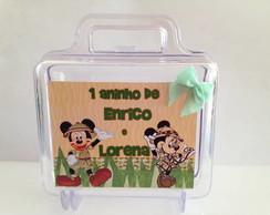 Maletas Acr�lica Personalizada Mickey