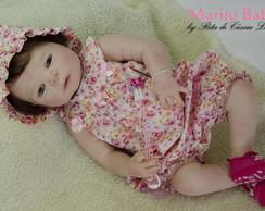 Boneca Reborn Isabela- SILICONE