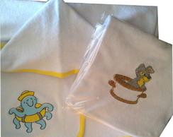 Toalha Com Capuz - Personalizada
