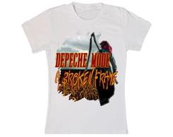 Camiseta do Depeche Mode