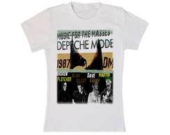 Camiseta do Depeche Mode
