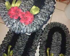 Jogo Banheiro em croch�