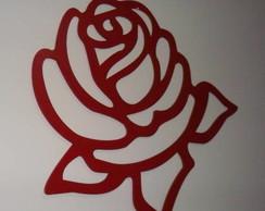 Escultura de parede em mdf.