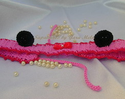 Faixinha de Croch� da Minnie
