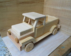 Pick Up de madeira- grande