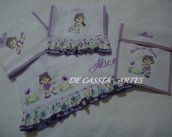 Kit Maternidade Alice 4 pe�as