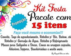 Kit Festa 15 itens