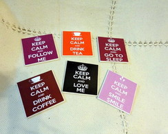 "Porta copos ""Keep Calm"""